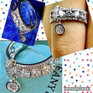 Sterling dangle ring
